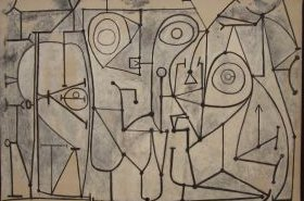 Pablo Picasso, 1948: The Kitchen,  Moma, NY